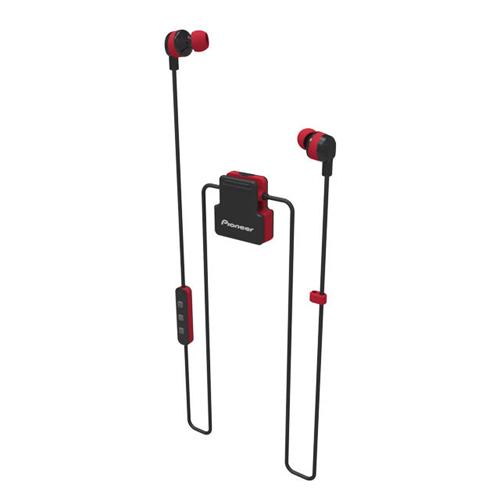 Pioneer [S/5]ClipWear Active 入耳式藍牙耳機 紅 SE-CL5BTR