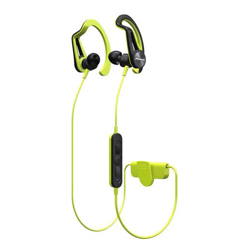 Pioneer Clip Sport 掛耳式藍牙耳機 黃 SE-E7BTY