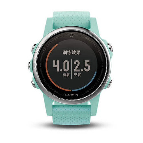GARMIN Fenix 5s GPS輕量美型款腕錶[繁體版] Frost Blue