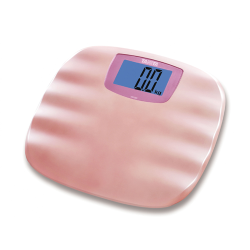 TANITA 輕巧電子體重磅 HD390紛紅