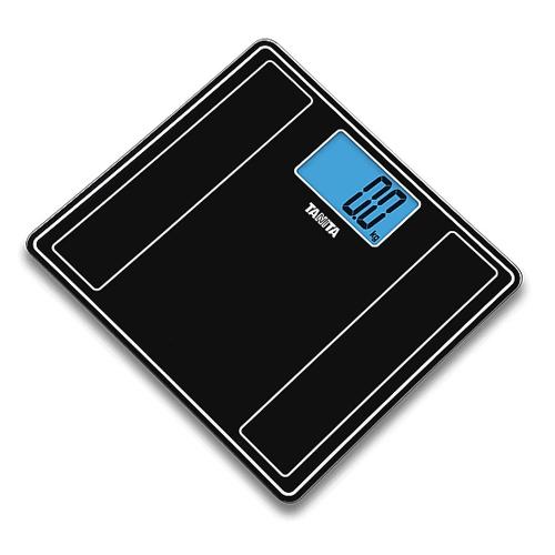 TANITA 輕巧電子體重磅 HD382黑