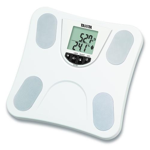 TANITA 脂肪分析磅 BC-G01白