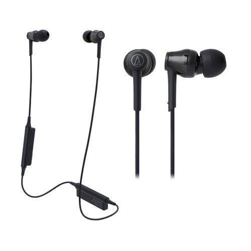 audio-tech Bluetooth In-Ear Earphones 黑 ATH-CKR35BT BK