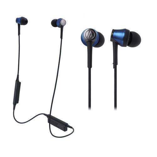 audio-tech Bluetooth In-Ear Earphones 藍 ATH-CKR55BT BL