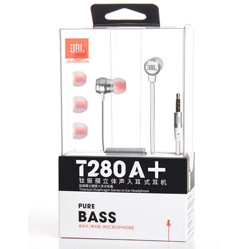 JBL 鈦振膜立體聲入耳式耳機 MICROPHONE