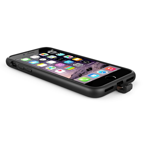 X-Level 360 Qi Wireless Charge Case [Black] iPhone 7/6s/6 Plus