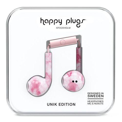 HappyPlugs Earbud Plus Pink Marble