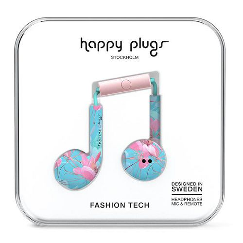 HappyPlugs Earbud Plus Botanica Exotica