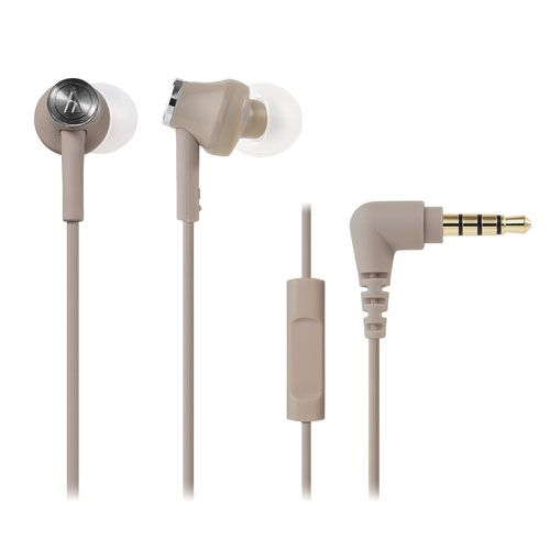 audio-tech Moblie In-earphones 杏 ATH-CK350is BG