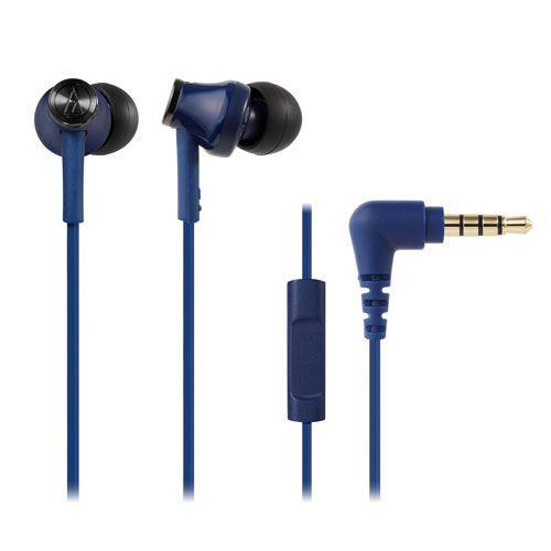 audio-tech Moblie In-earphones 藍 ATH-CK350is BL