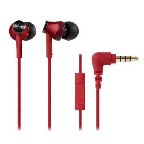 audio-tech Moblie In-earphones 紅 ATH-CK350is RD