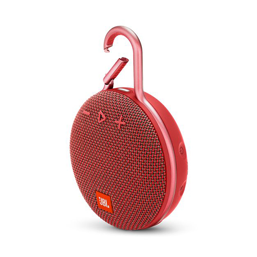 JBL Clip3 Portable Bluetooth Speaker Black 紅
