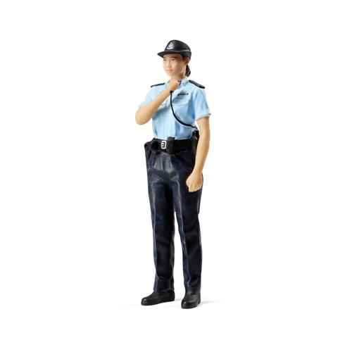 Tiny微影 樹脂公仔 18 巡邏女警[1:18]
