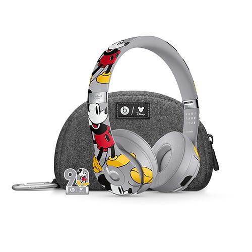 Beats Solo3 Wireless Headphones-Mickey's 90th