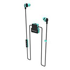 Pioneer [6]ClipWear Active 入耳式藍牙耳機 綠 SE-CL5BTGR