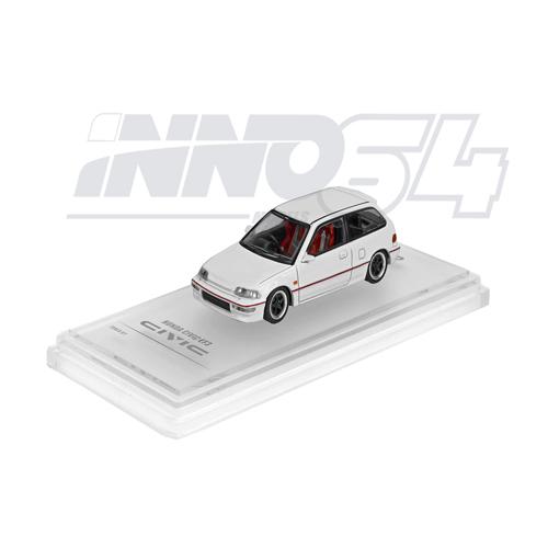 INNO64 Honda Civic EF9 SiRWhite Edition w/Separate Decals