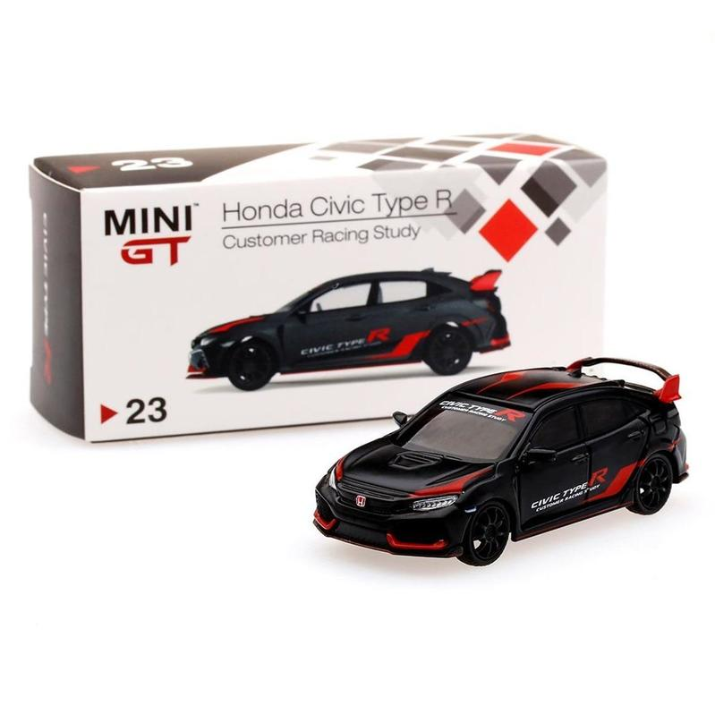MINI GT Honda Civic Type R Customer Racing Study [FK8;LHD]