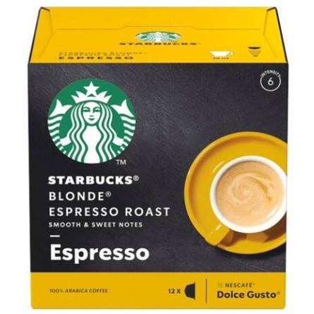 STARBUCKS 黃金特濃烘焙咖啡膠囊/大 BLONDE ESPRESSO ROAS