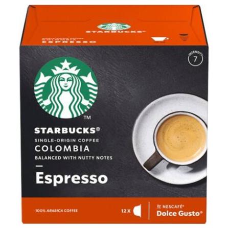 STARBUCKS 哥倫比亞咖啡膠囊/大 MEDIUM COLOMBIA