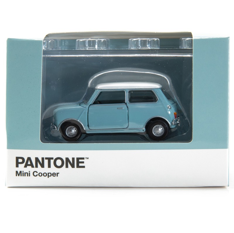 Tiny微影 Mini Cooper X Pantone Aqua MK1 551C
