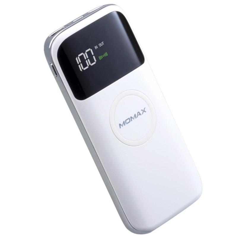 MOMAX [換]Q.Power Air2 10000mAh 無線充電電源 白