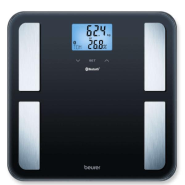 BEURER 藍牙身體脂肪測量磅 BF 850 黑色