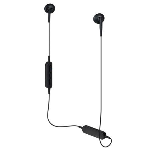 audio-tech Bluetooth Ear-Bud Earphones 黑 ATH-C200BT BK