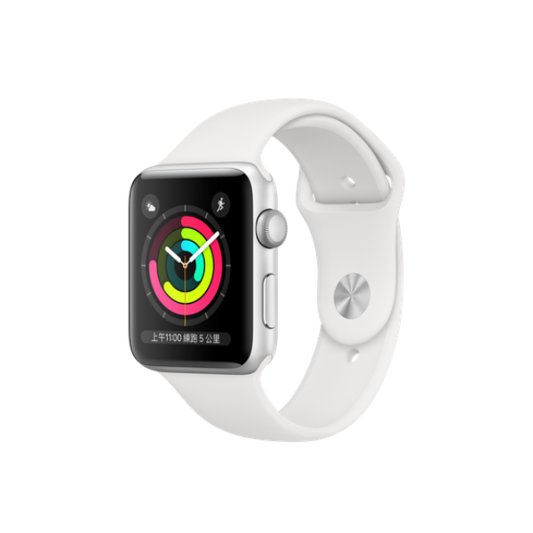 APPLE Watch S3 GPS 42mm Silver/White Sport