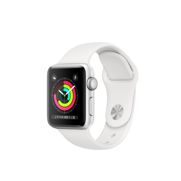 APPLE Watch S3 GPS 38mm Silver/White Sport