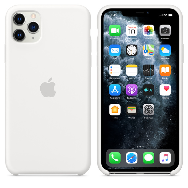 APPLE iPhone 11 Pro Max Silicone Case White