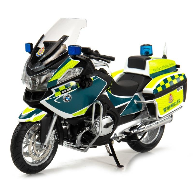 Tiny微影 1/12 寶馬R900RT-P 香港醫療輔助隊電單車