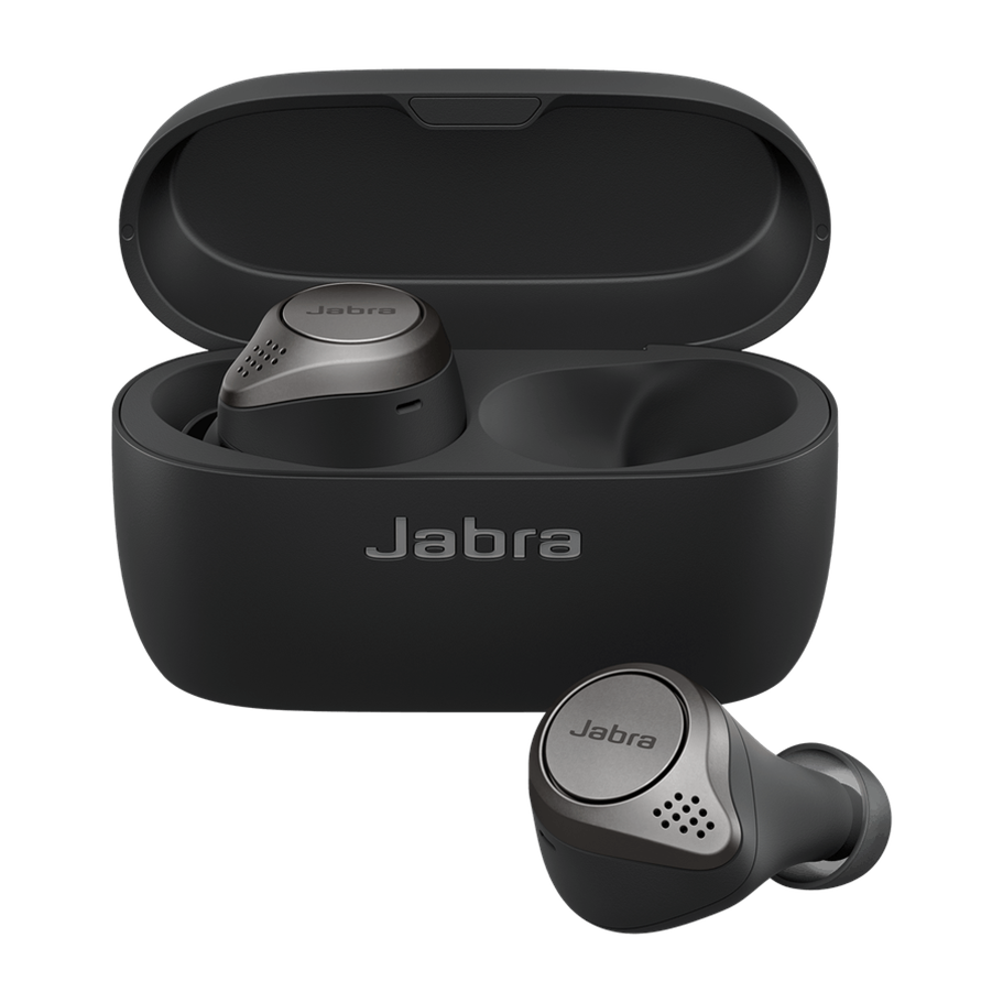 Jabra 藍牙耳筒 Elite 75t Titanium Black 100-99090000-40