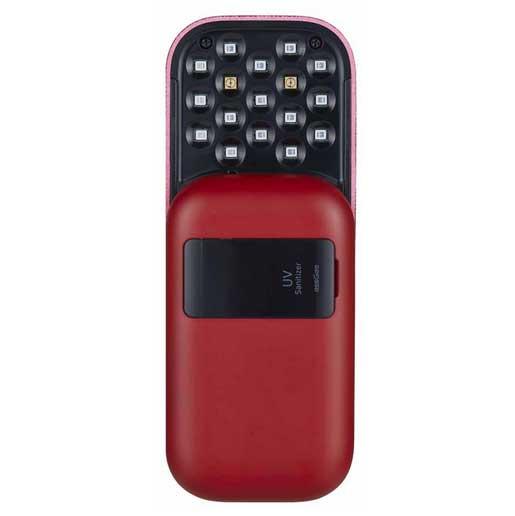 ESSGEE [i/換]便攜式UV紫外線殺菌機 003R紅