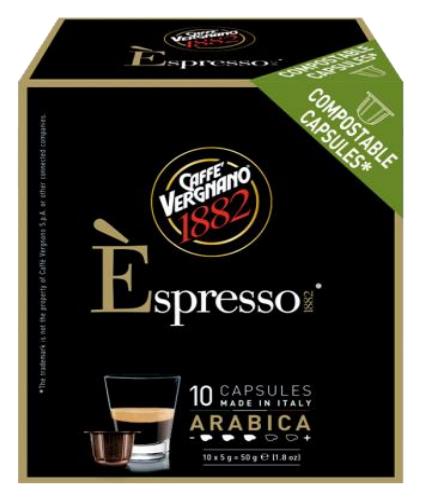 VERGNANO 1882阿拉比卡咖啡膠囊/小 ARABICA