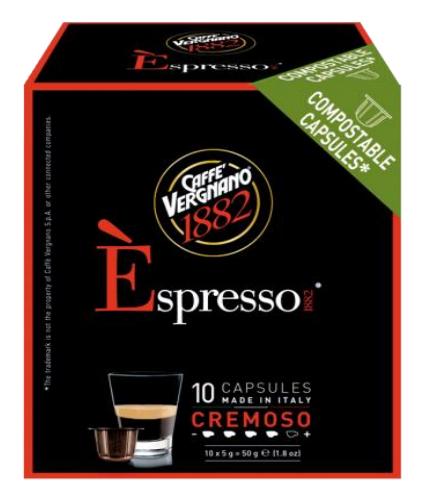 VERGNANO 1882奶油咖啡膠囊/小 CREMOSO