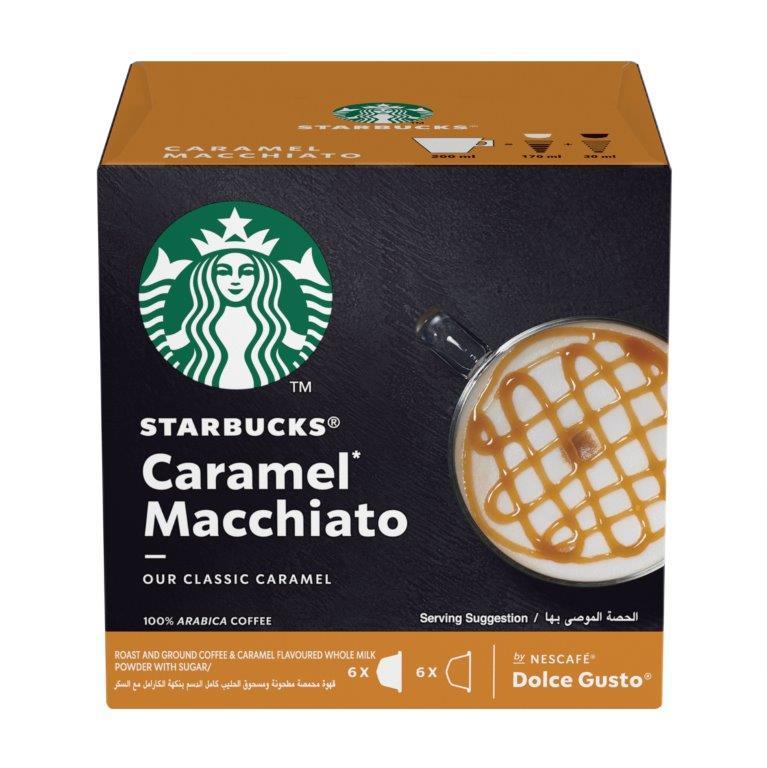 STARBUCKS 焦糖咖啡膠囊/大 CARAMEL MACCHIATO