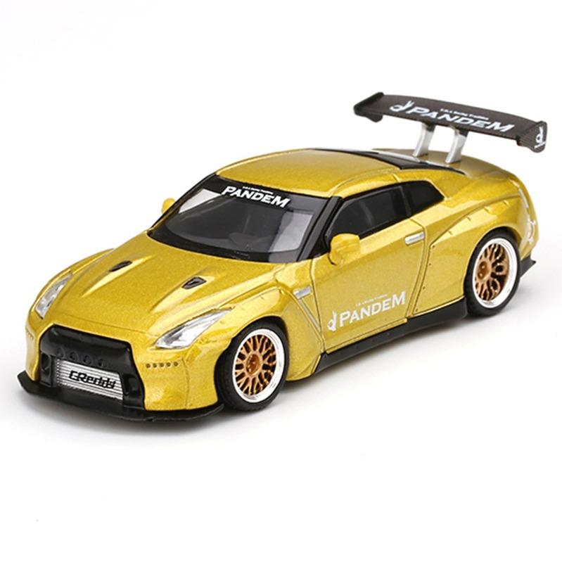 MINI GT Pandem Nissan GT-R R35 GT Wing [RHD] Cosmopolitan Yellow