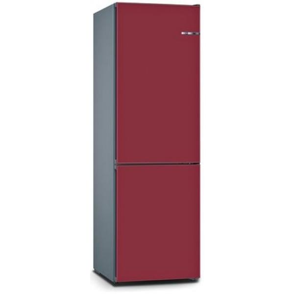 BOSCH 324L雙門雪櫃/可更換門板 KVN36IE3CK-野莓紅