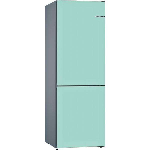 BOSCH 324L雙門雪櫃/可更換門板 KVN36IT3CK-淡藍色