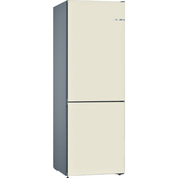 BOSCH 324L雙門雪櫃/可更換門板 KVN36IV3CK-珍珠白