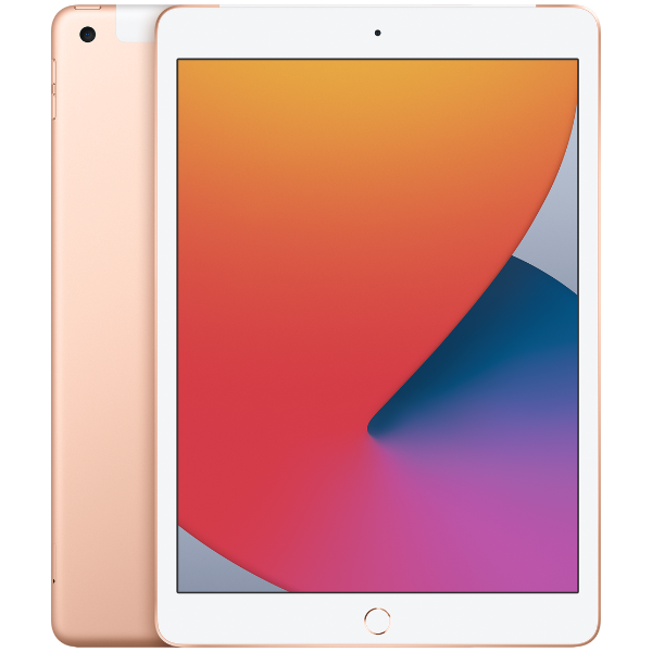 APPLE 10.2 iPad Wi-Fi + Cellular 128GB Gold