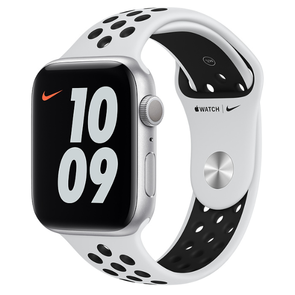 APPLE Watch Nike S6 GPS 44mm Silver/Black Sport Band