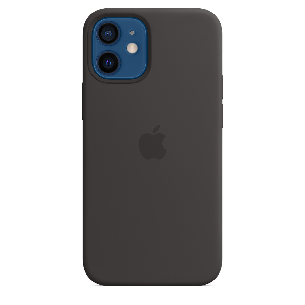APPLE iPhone12 mini Silicone Case with Magsafe Black