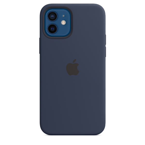 APPLE iPhone12/12 Pro Silicone Case with Magsafe-Deep Navy