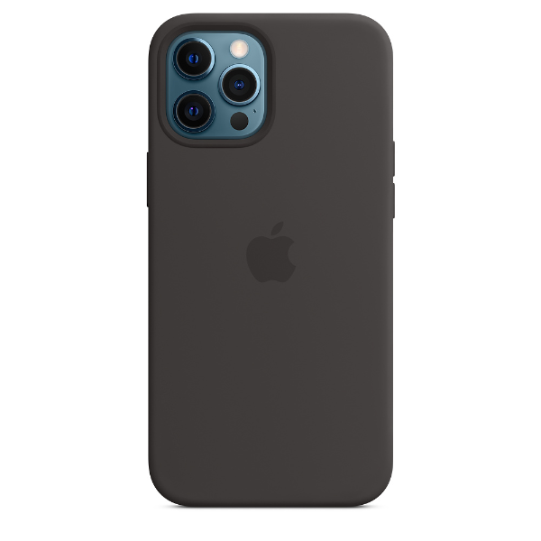 APPLE iPhone 12 Pro Max Silicone Case with Magsafe-Black