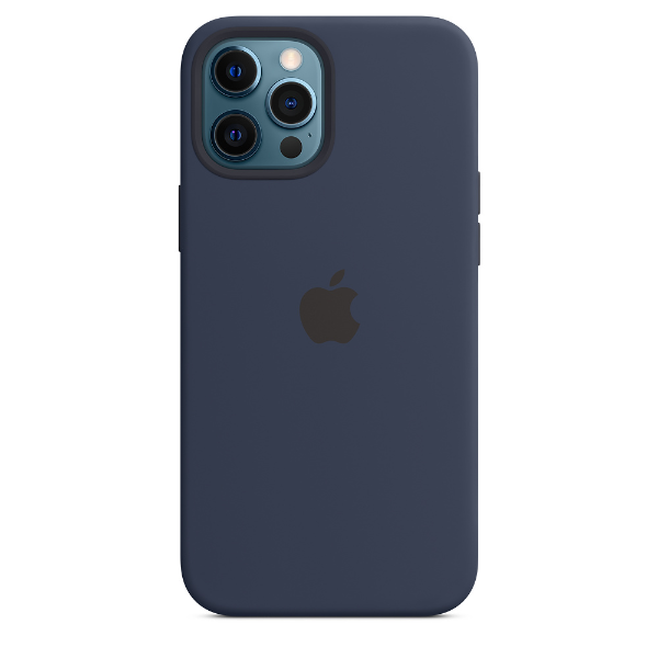 APPLE iPhone 12 Pro Max Silicone Case with Magsafe-Deep Navy