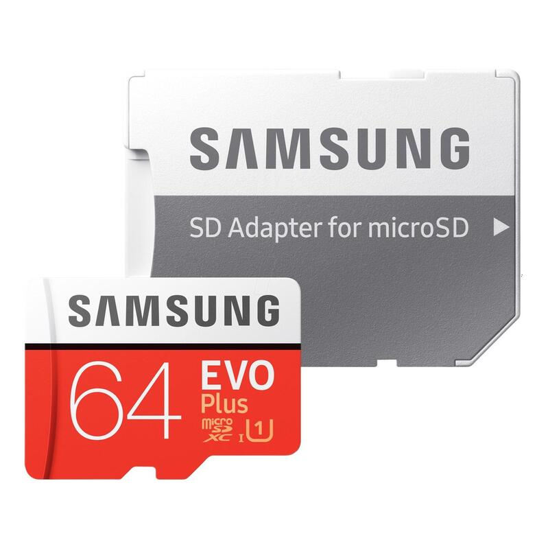 SAMSUNG [i]EVO PLUS MicroSDXC 64GB UHS-1 FHD