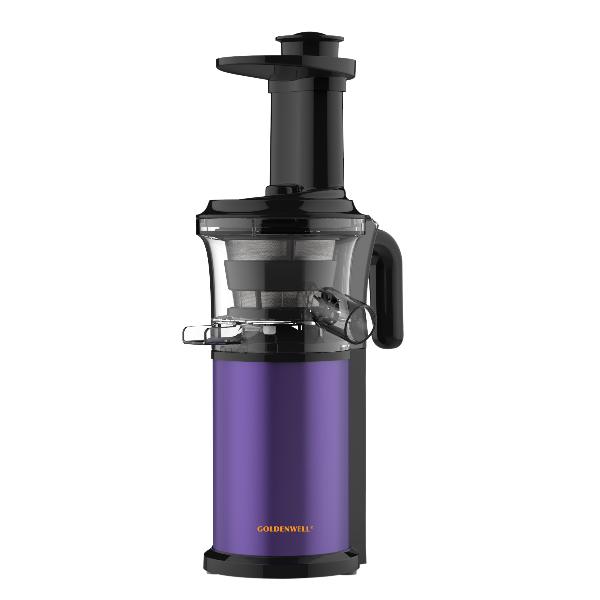GOLDENWELL 冷壓慢磨原汁機 GW-SCP100P/紫羅蘭色