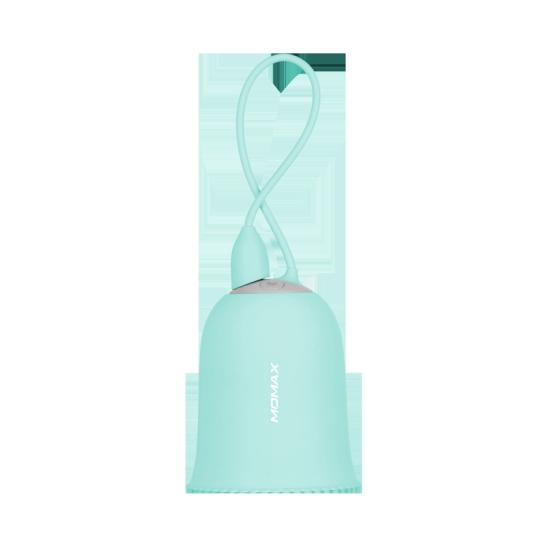 MOMAX iWarmer 3600mAh 暖手寶+小夜燈+流動電源 湖水藍