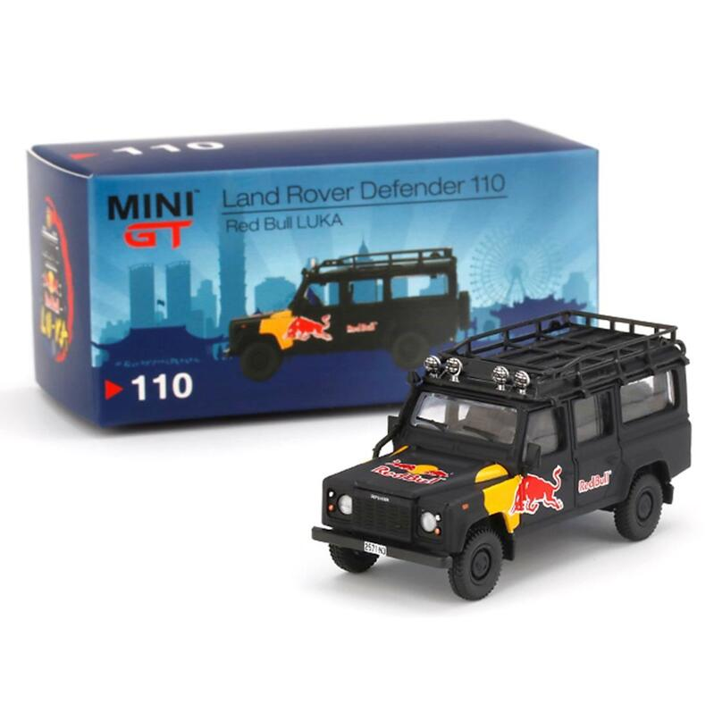 MINI GT Land Rover Defender 110 - Red Bull LUKA LHD